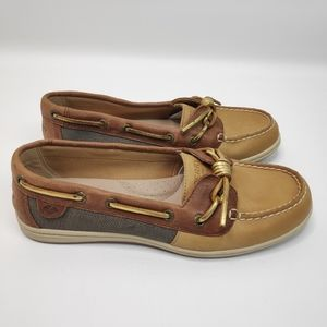 Sperry Top-Sider Barrelfish Womens Boat Shoes Sz 8